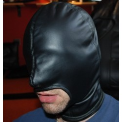Kinkys Control Master Maske aus Vollleder