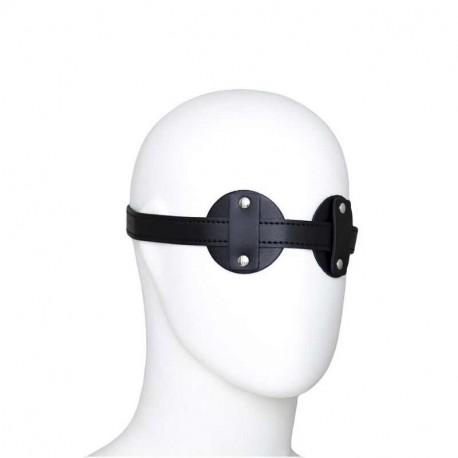 Augen Maske aus PU Leder