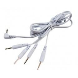 E-Reizstrom Elektroden Kabel 2 oder 4 Pins