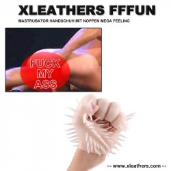 FINGER FUCK  FIST GLOVE XLEATHERS