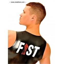 Fist Rubber Muscle Sleeveless T-Shirt
