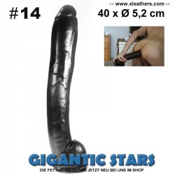 GIGANTIC STARS XXL DILDO No 14 - 40 x Ø 5,2 cm