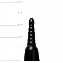All Black Dildo 17   AB17