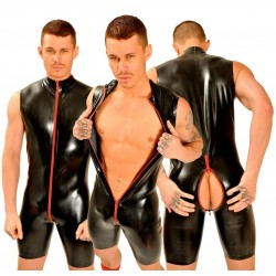 1Fist Rubber Tom Suit • Red Stripe  Original from UK