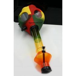 Gasmasken-Bong aus Acryl, Wasserpfeife für Partys, Poppers Maske
