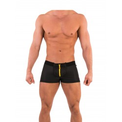 Barcode Berlin Short Krave black-yellow