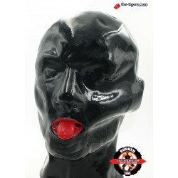 DEEP-RUBBER BLACK HOLE MASKE AUS 0.4 mm FESTEN LATEX