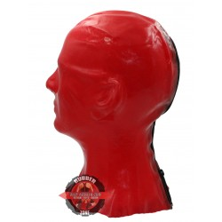 DEEP-RUBBER RED.HOLE MASK OF 0.4 mm SOLID LATEX