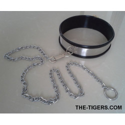 SLAVES NECKLACE WITH CASTLE AND LINE
