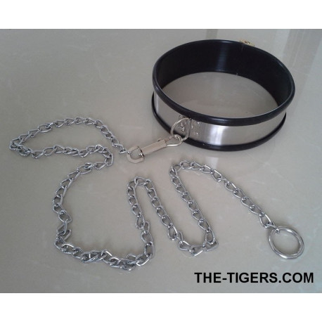 Collar with combination lock and O-ring  Ø 16 cm