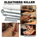 Xleathers ESTIM-Electro-torture Neon Wand Kit