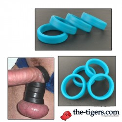 MASTER BALLS - COCKRING AND BALLSTRETCHER Blau
