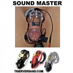 Soundmaster ESTIM Keuschheitskäfig ET900  für Männer mit dosierbarer Stromstöße