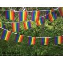 Gay Pride Rainbow Flag 14x21cm 20stk