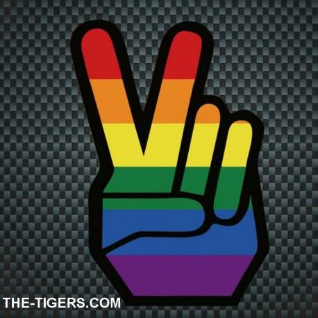 Pride Peace Sticker