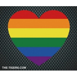 Pride Heart Sticker