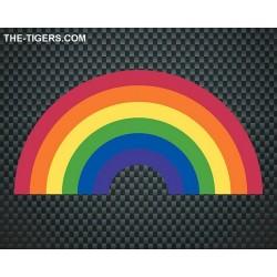 Pride Rainbow Sticker Aufkleber 7,5 x 15cm