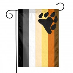 PRIDE BEARBROTHER HOOD FLAG 90x150cm