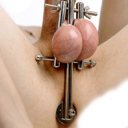 Stainless Steel Xtreme 4-In-1 Chastity Device