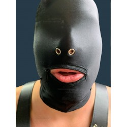 BLOW JOB mask Mouth (zipper) and 2 reinforced nostrils