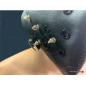 Poppers- mask with rivets Masculine charisma