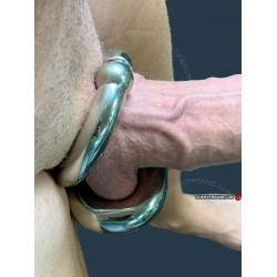 Skrotum Ballstretcher Ruthless with ball closure