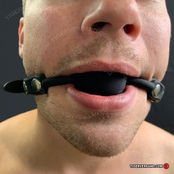 BDSM SUB GAG BY Xleathers ® Black Ball