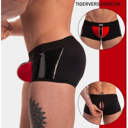 Boxer Mijail Barcode Fetish Line with Zip