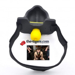 Urinal Piss Watersport Mask by Deep Rubber Set