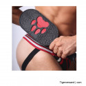 PUPPY PAW LEATHER PADDLE
