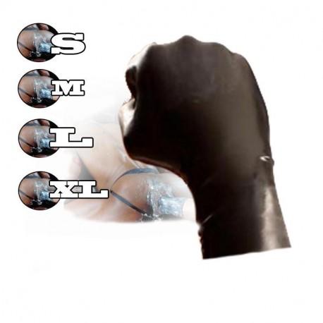 Latexhandschuhe schwarz besonders anschmiegsamen