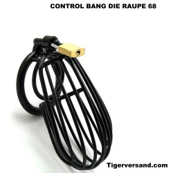 Chastity Belt CONTROL THRILL -the caterpillar 700-