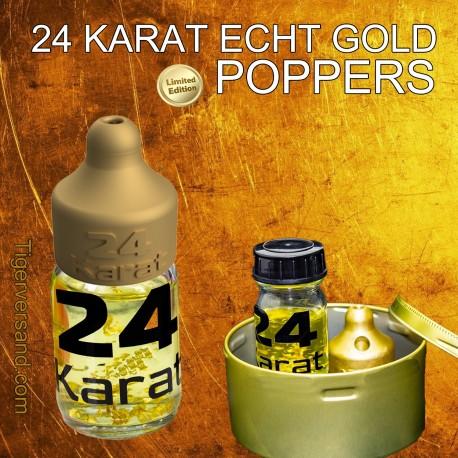 24 Karat Gold Poppers Echt Gold eigene TV Formel