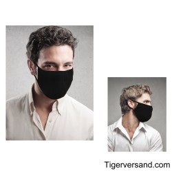 TANNER Protective mask black cotton