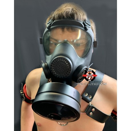 Original Polish Gas Mask mit neuen Filter Unikat