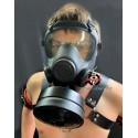 BDSM Gas Mask Control  für S/M und  Bondage-Studio Poppers Phantasie