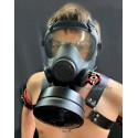 BDSM Gas Mask Control Standard equipment for S / M and bondage studio Poppers fantasy