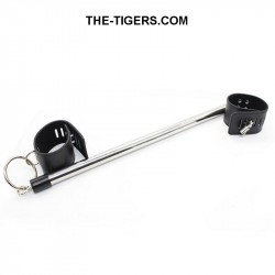 Spreader bar 49.5 cm with 2 ankle cuffs lockable