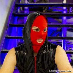 Bad Boy Fetishmaske Max 2.0 Farbe Rot