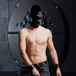 Vollledermaske -2 HOLE-