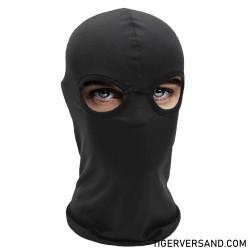 2 Hole BDSM Maske Spandex Premium Ausführung