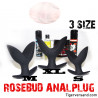 ROSEBUD ANALPLUG  3er Set