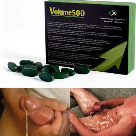 Volume500 Tabletten für mehr Sperma
