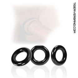 OXBALLS WILLY Cock Ring 3-Pack