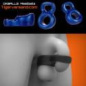 Oxballs Meatballs Chastity Rings - Blueballs