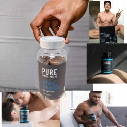 Pure for Men - Vegane Ballaststoffe - 120 Kapseln